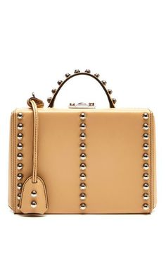 Small Sand Top Handle Trunk by Mark Cross for Preorder on Moda Operandi
