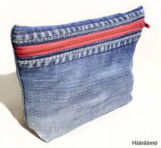Denim toiletry bags / pencil cases TUTORIAL