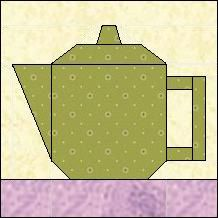 Block of the Day for September 11, 2014 - Teapot