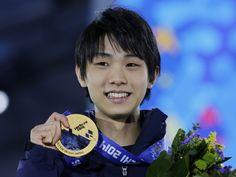 Yuzuru Hanyu , medal ceremony