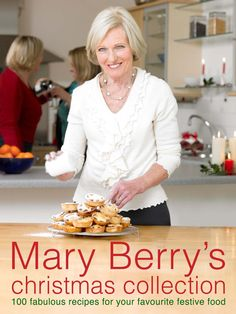 "No British cookbook collection is complete without at least on Mary Berry Book. The ""Queen of Baking"" her Christmas collection is a must-have for festive cooking. British Baking Show Recipes, British Bake Off Recipes, Great British Bake Off, Baking Recipes, Easy Recipes, British Dishes, British Cook, British Desserts, Queen Of Puddings"