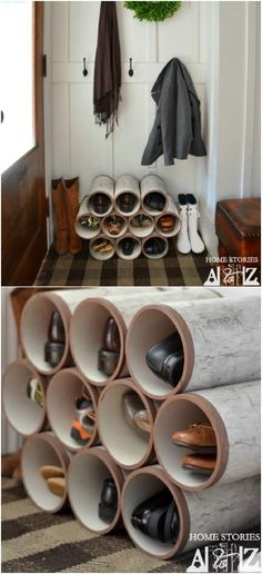 25 Life-Changing PVC Pipe Organizing and Storage Projects – Garage Organization DIY Pvc Pipe Storage, Garage Storage, Storage Rack, Storage Baskets, Closet Storage, Tool Storage, Storage Containers, Kitchen Storage, The Family Handyman