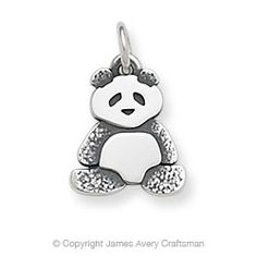 Panda Charm from James Avery  @Amanda Swikert, look they have one for you as well! : )
