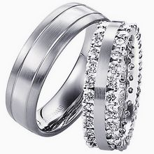 Furrer-Jacot Tone-on-Tone Wedding Ring: Furrer-Jacotwedding bandswedding rings