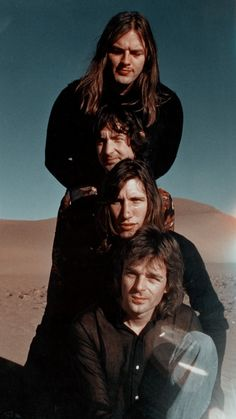 Pink Floyd More, David Gilmour Pink Floyd, Richard Wright, Psychedelic Music, Band Photography, Roger Waters, Rock Legends, Popular Music, Poses