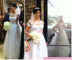 Camila Coutinho e seu vestido de noiva #lindo