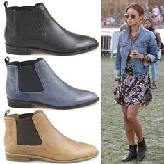 The perfect Chelsea boot / Massimo Dutti Flat Black Ankle Boot ...