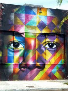 Jean Michel Basquiat - Eduardo Kobra // photo @vidos - mai 2014 - street-art-avenue