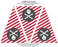 Pirate Birthday Party....free printable