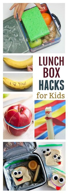 30 LUNCH BOX HACKS & IDEAS FOR KIDS. These are genius!!