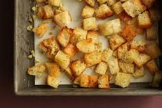 How to Make Croutons – The Pioneer Woman South African Recipes, Ethnic Recipes, How To Make Croutons, Malva Pudding, Berry, Biltong, Cauliflower, Recipies, Favorite Recipes