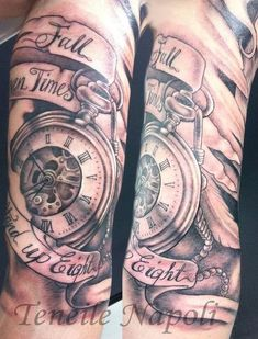 Like the pocket watch and banner script