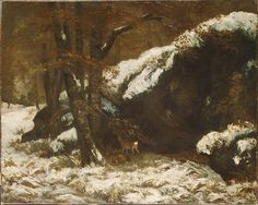 Gustave Courbet (French, 1819-1877). The Deer, ca. 1865. The Metropolitan Museum of Art, New York. H.O. Havemeyer Collection, Bequest of Mrs. H. O. Havemeyer, 1929 (29.160.34)