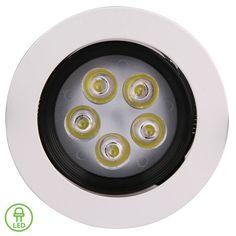 LED Downlight - 5W Complete (Tilt)  #futurelightledlightssouthafrica #led #futurelight #ledlights