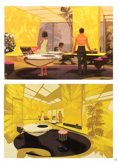 ... future kitchen - Syd Mead | Flickr - Photo Sharing!