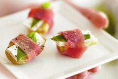 Artichokes with prosciutto, feta and mint main image