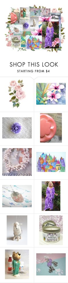 Home is where your mom is... by darkfirehandmade on Polyvore featuring Capelli New York