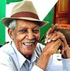 Compay Segundo, more of 90 years old, famous musician in the Buena Vista Social Club,