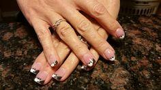 Shellac Brisa Gel nails with Shellac polish