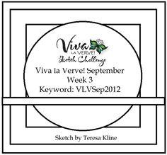Viva la Verve! September 2012 Week 3 Card Sketch {9/14/12}