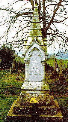 The grave of Florence Nightingale, St. Margaret Church in East Wellow, England