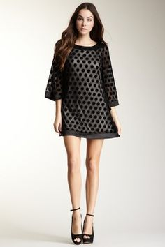 Jarlo Nicole Dot Dress..cute...but could be a lil longer