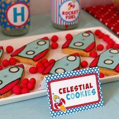 Rocket Cookies