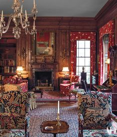 Peggy and David Rockefeller Collection: Part I David Rockefeller, English Decor, Cozy Nook, Family Room Design, Romantic Homes, Living Room Interior, Living Rooms, Luxury Living, Modern Living