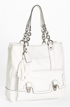 COACH 'Poppy' Pushlock Tote | Nordstrom