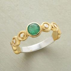 Handcrafted Emerald Ring                                              | Robert Redford's Sundance Catalog