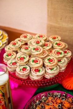 Dulces, boda mexicana