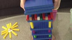 Sky Scrapers with Cuisenaire Rods and hundreds blocks - Education Unboxed's Channels on Vimeo
