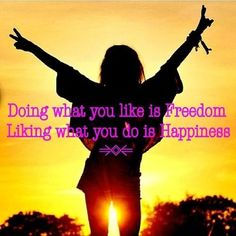 SHARE - TAG Motivate others!   DOING WHAT YOU LIKE IS FREEDOM. LIKING WHAT YOU DO IS HAPPINESS.  Learn more about Phytoceramides: www.sweetsweat.com/phytoceramides   #phytoceramides #beautyquotes #womanquotes