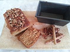 Spicy butternut and pecan loaf#spicy,unique