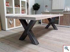 Steigerhouten tafel praxis keuken ideeen keuken ideeen