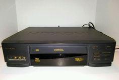 HITACHI VHS VCR VCR Plus Model VT F482A No Remote Works Great #Hitachi