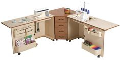 * Amazing collection of crafting tables from tiny to enormous!
