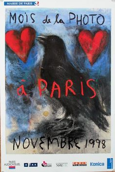 """Jim Dine, """"Month of Photography in Paris,"""" France, 1998"""