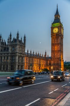 Big Ben & the London Taxis