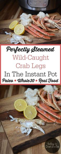 The Instant Pot takes all the intimidation out of something fancy like crab legs! When dipped in K2-rich butter, these perfectly steamed wild-caught crab legs in the Instant Pot provide one powerfully nourishing meal or appetizer -- perfect for any special occasion where you want to serve Real Food!