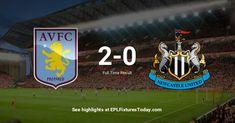 Premier League Fixtures, Aston Villa, Newcastle, The Unit, Aston Villa F.c.