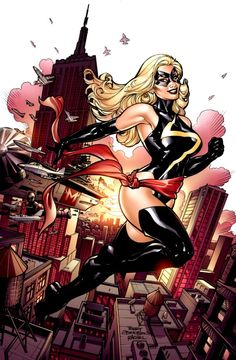 Ms Marvel by Terry Dodson Ms Marvel Captain Marvel, Miss Marvel, Captain Marvel Carol Danvers, Marvel Heroes, Marvel Avengers, Marvel Comic Universe, Marvel Comics Art, Marvel Comic Books, Comic Books Art