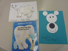 Polar Bear Ideas - Re-pinned by @PediaStaff – Please Visit ht.ly/63sNt for all our pediatric therapy pins  Fav animal, love this