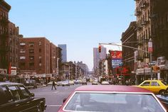 Ninth Avenue at 56th Street, facing South, 1979.
