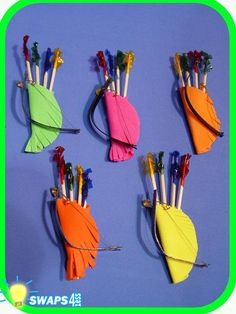 girl scout swap ideas - Bow and Arrows
