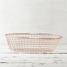 Copper Storage Basket, Low in Sale House + Home at Terrain