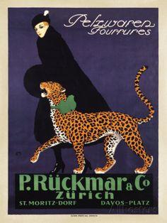 P. Ruckmar and Co., 1910 Poster par Ernest Montaut sur AllPosters.fr