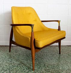 Ib Kofod-Larsen Lounge Chair | From a unique collection of antique and modern armchairs at http://www.1stdibs.com/furniture/seating/armchairs/
