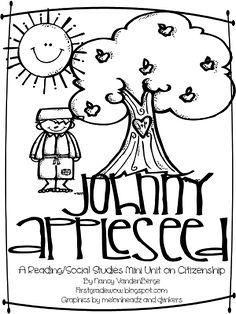 First Grade Wow Johnny Appleseed Good Citizenship