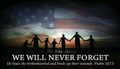 Never forget the heroes or the fallen!